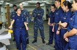 Doors opening wide for women to serve in the Navy