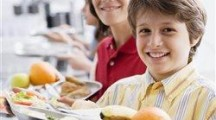 Kids choose at one of country's largest restaurants: the school cafeteria