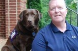 4 paws and a wet nose can save a wounded veteran's life
